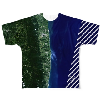 福島県 双葉郡 Full graphic T-shirts