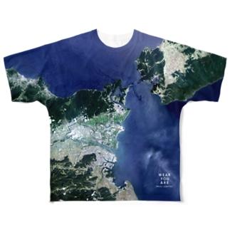 徳島県 鳴門市 Full graphic T-shirts
