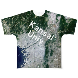 大阪府 吹田市 Full graphic T-shirts