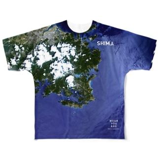 三重県 志摩市 Tシャツ 両面 Full graphic T-shirts