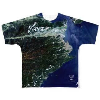徳島県 吉野川市 Full graphic T-shirts