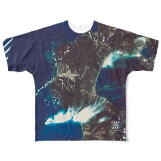 北海道 瀬棚郡 Full graphic T-shirts