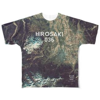 青森県 弘前市 Full graphic T-shirts