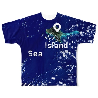 沖縄県 島尻郡 Full graphic T-shirts