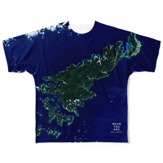 WEAR YOU AREの鹿児島県 奄美市 Full graphic T-shirts