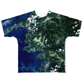 愛媛県 西予市 Full graphic T-shirts