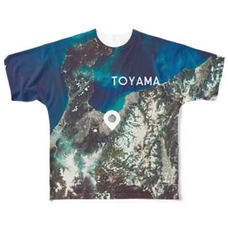 富山県 富山市 Full graphic T-shirts