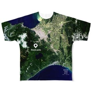 北海道 北広島市 Full graphic T-shirts