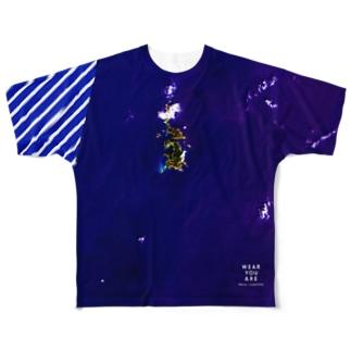 東京都 小笠原村 Full graphic T-shirts