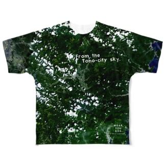 岩手県 遠野市 Full graphic T-shirts