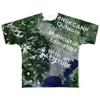 埼玉県 入間郡 Full graphic T-shirts