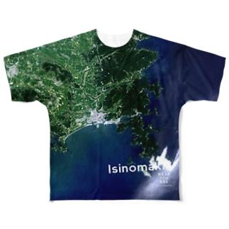 宮城県 石巻市 Full graphic T-shirts