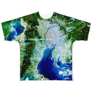 三重県 桑名市 Full graphic T-shirts