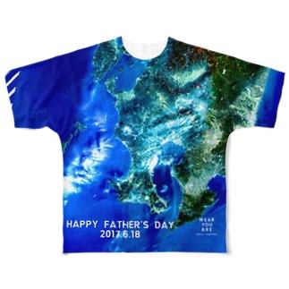 鹿児島県 薩摩川内市 Full graphic T-shirts