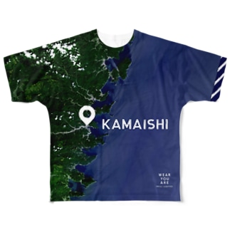 WEAR YOU AREの岩手県 釜石市 Full graphic T-shirts