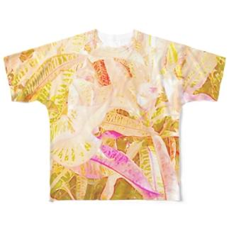 南国の葉っぱ2🌿 Full graphic T-shirts