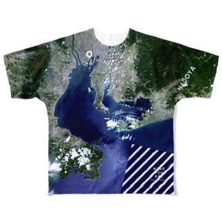 愛知県 知多郡 Full graphic T-shirts
