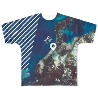 石川県 白山市 Full graphic T-shirts