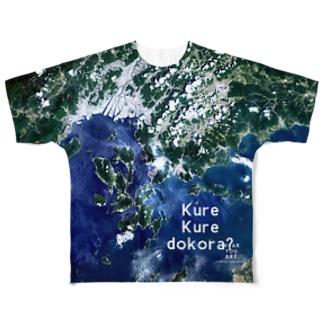 広島県 呉市 Full graphic T-shirts