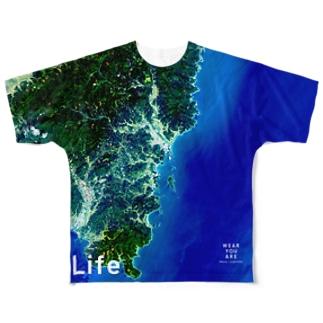 宮崎県 日南市 Full graphic T-shirts