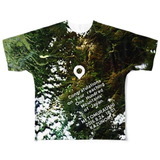 北海道 上川郡 Full graphic T-shirts