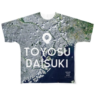 東京都 台東区 Full graphic T-shirts