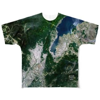 滋賀県 大津市 Full graphic T-shirts