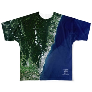 茨城県 日立市 Full graphic T-shirts
