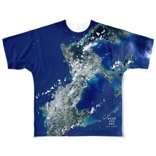 沖縄県 国頭郡 Full graphic T-shirts
