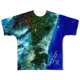 宮崎県 Unnamed Road Full graphic T-shirts