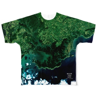 北海道 厚岸郡 Full graphic T-shirts