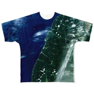 山形県 鶴岡市 Full graphic T-shirts