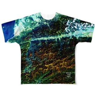 徳島県 三好市 Full graphic T-shirts