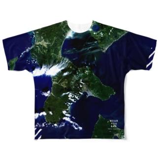 北海道 北斗市 Full graphic T-shirts