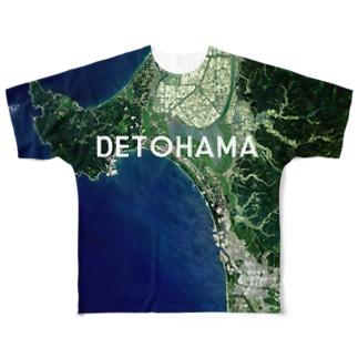 秋田県 潟上市 Full graphic T-shirts