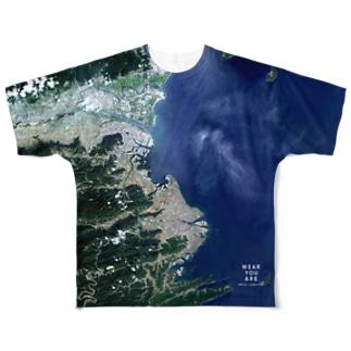 徳島県 小松島市 Full graphic T-shirts