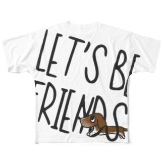 チョコラ3 Full graphic T-shirts