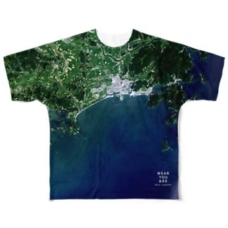 宮城県 東松島市 Full graphic T-shirts