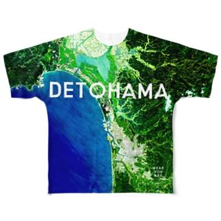 秋田県 秋田市 Full graphic T-shirts