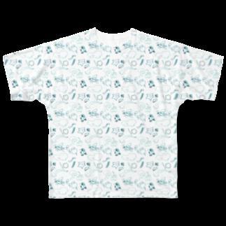 解析屋こさめのuzom・uzo フルグラフィックTシャツ