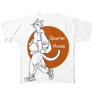 ツブくんとおでかけ All-Over Print T-Shirt