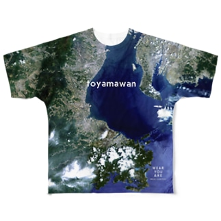 三重県 多気郡 Full graphic T-shirts