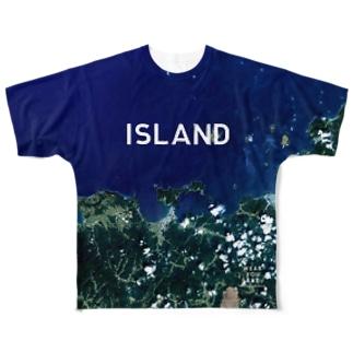 山口県 萩市 Full graphic T-shirts