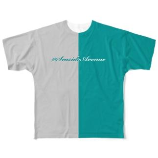 #SeasideAvenue Full graphic T-shirts