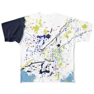 LIBRI PAINT WORK 002 フルグラフィックTシャツ