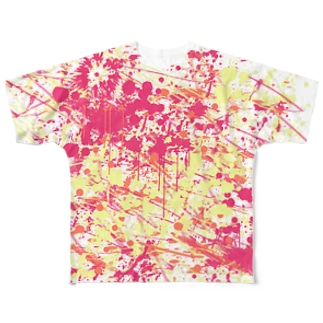 LIBRI PAINT WORK 001 Full graphic T-shirts