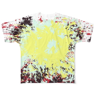 LIBRI PAINT WORK 003 Full graphic T-shirts