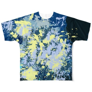 LIBRI PAINT  WORK 005 Full graphic T-shirts