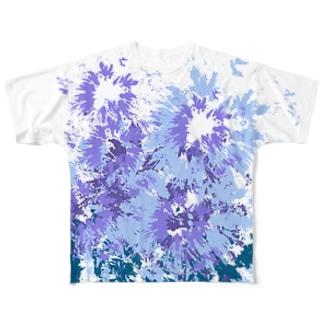 LIBRI PAINT WORK 008 フルグラフィックTシャツ