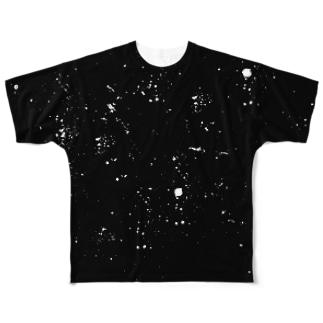 LIBRI PAINT WORK 011 フルグラフィックTシャツ
